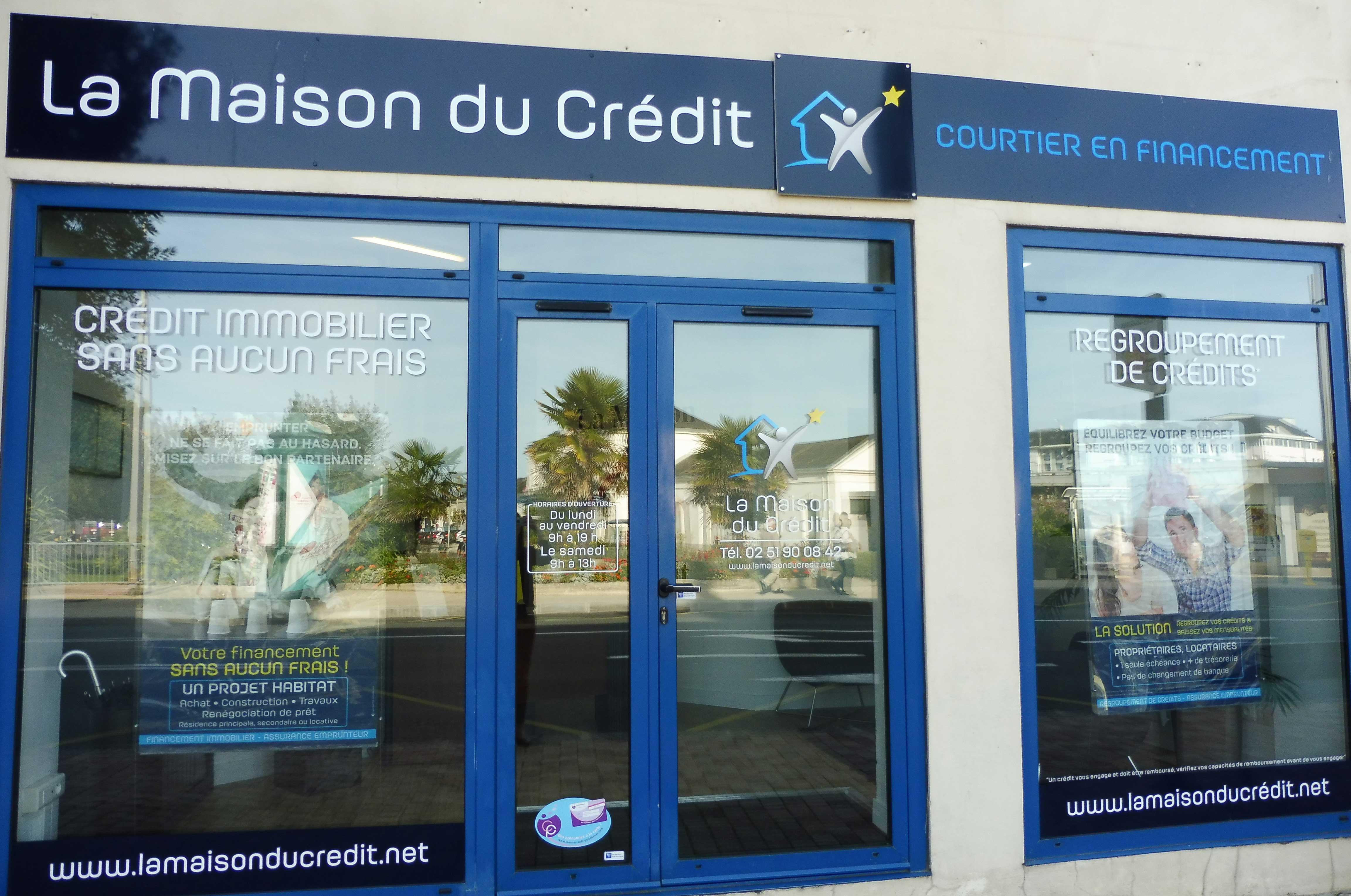 façade la maison du crédit